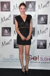 Andrea Duró en la gala de los premios Must 2011