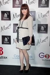Angy Fernández en la gala de los premios Must 2011