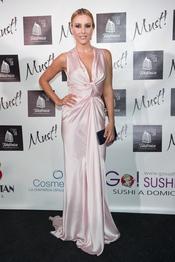 Berta Collado en la gala de los premios Must 2011