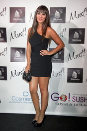 Cristina Pedroche en la gala de los premios Must 2011