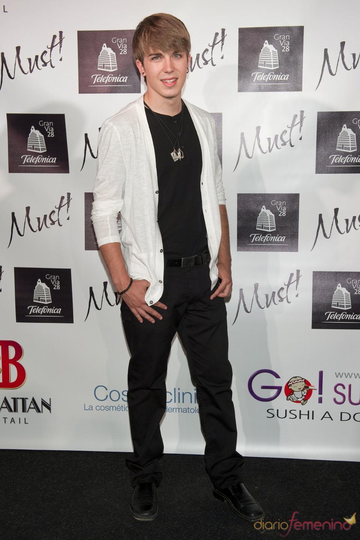 Dani Sánchez en la gala de los premios Must 2011