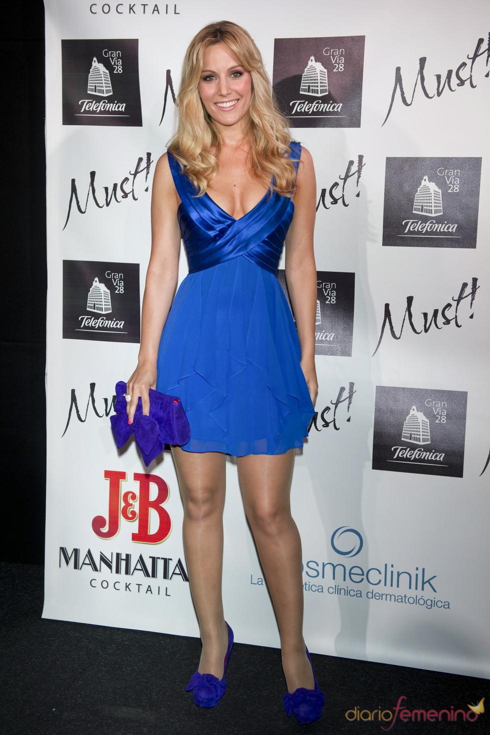 Edurne en la gala de los premios Must 2011