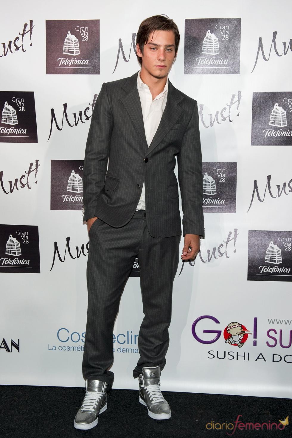 Joel Bosqued en la gala de los premios Must 2011