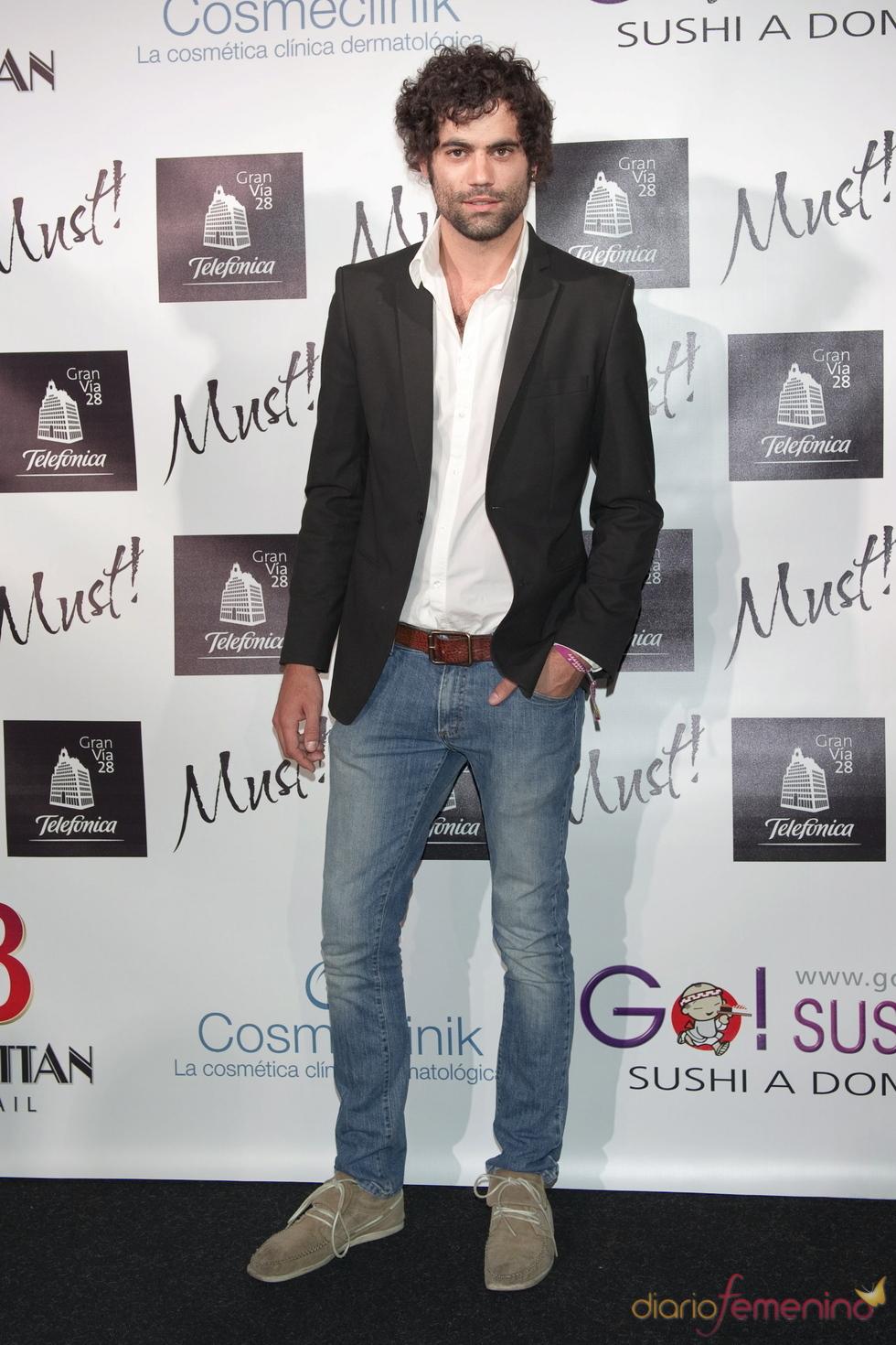 Jordi Mestre en la gala de los premios Must 2011