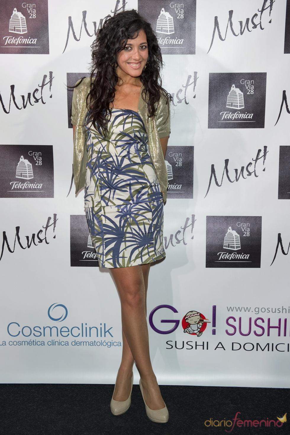 Lucía Pérez en la gala de los premios Must 2011