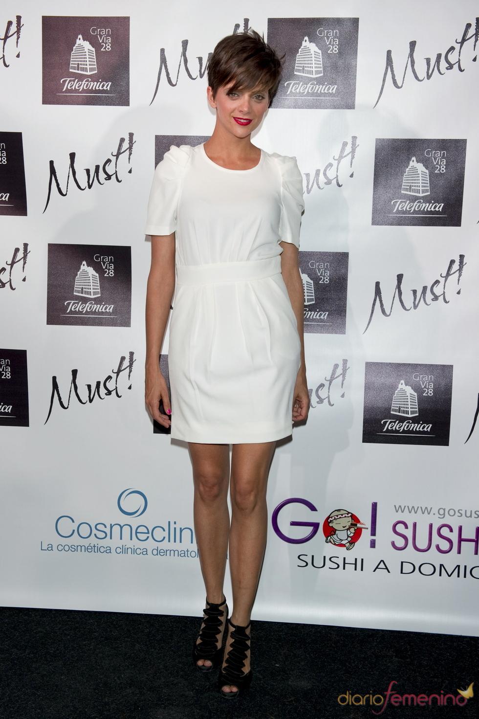 Macarena Gómez en la gala de los premios Must 2011