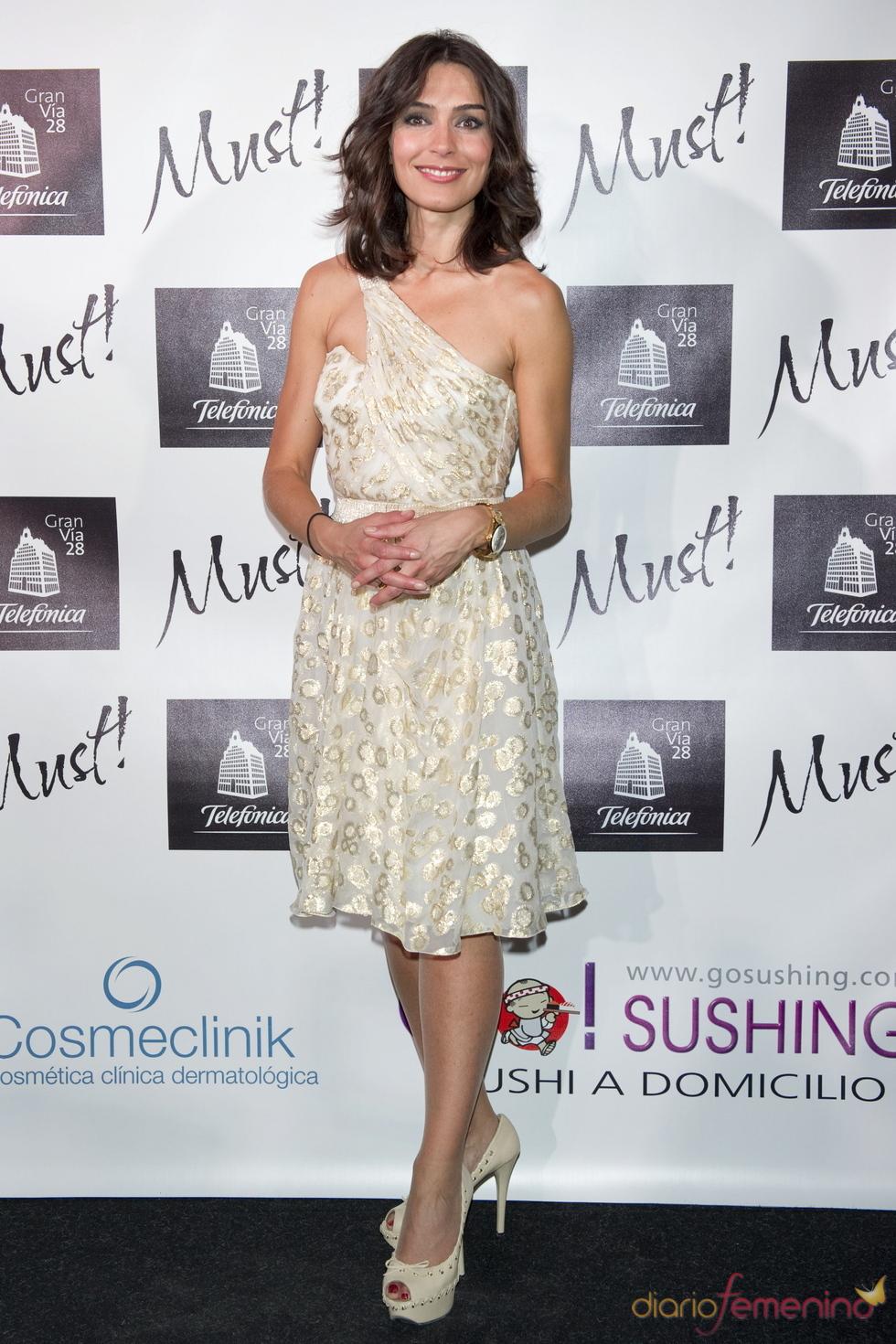 Marta Fenández en la gala de los premios Must 2011
