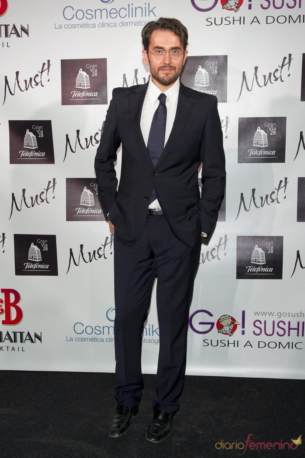Maxim Huerta en la gala de los premios Must 2011