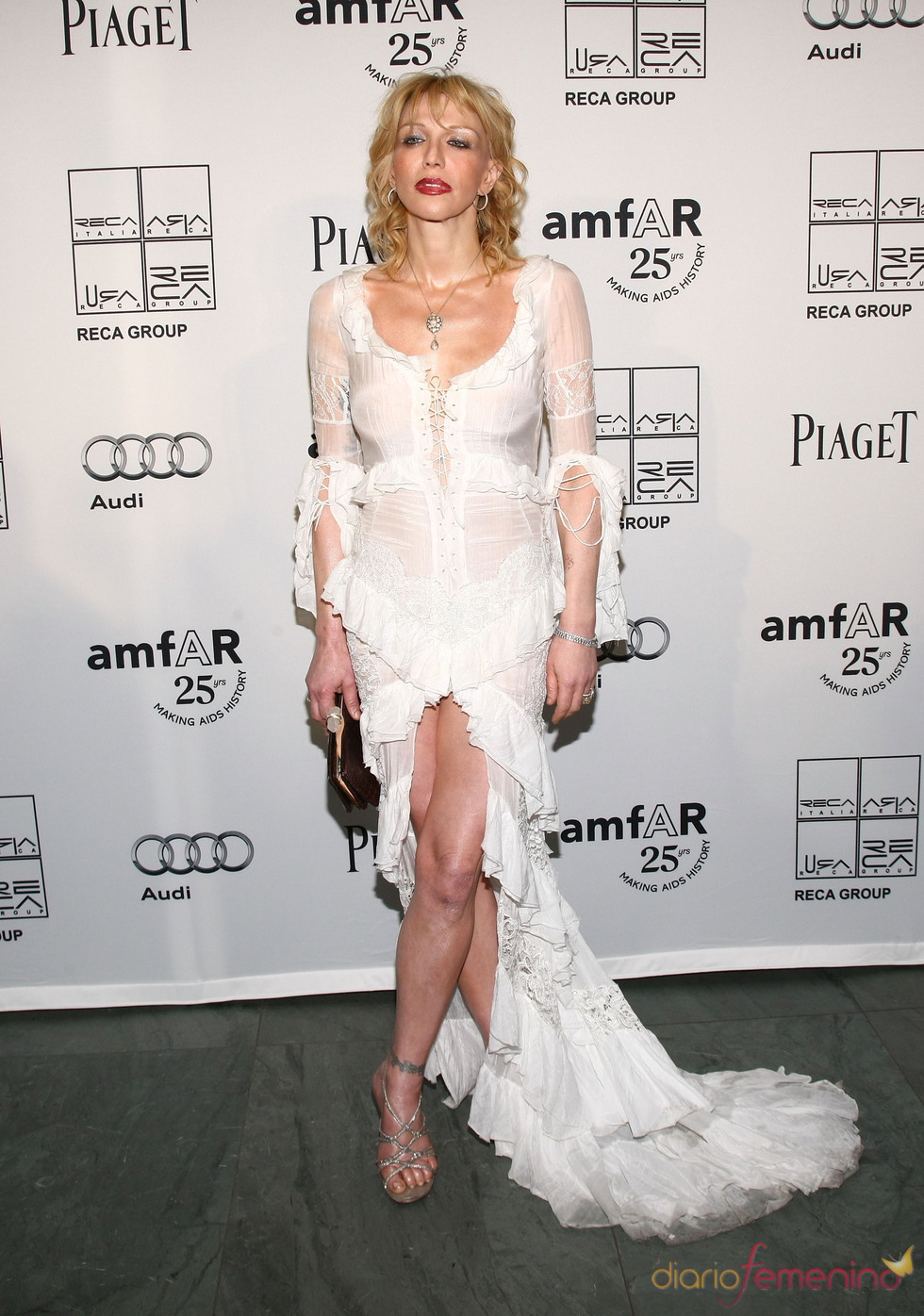 Courtney Love en la Gala amfAR 2011