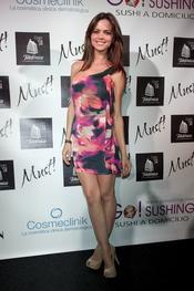 Romina Belluscio en la gala de los premios Must 2011