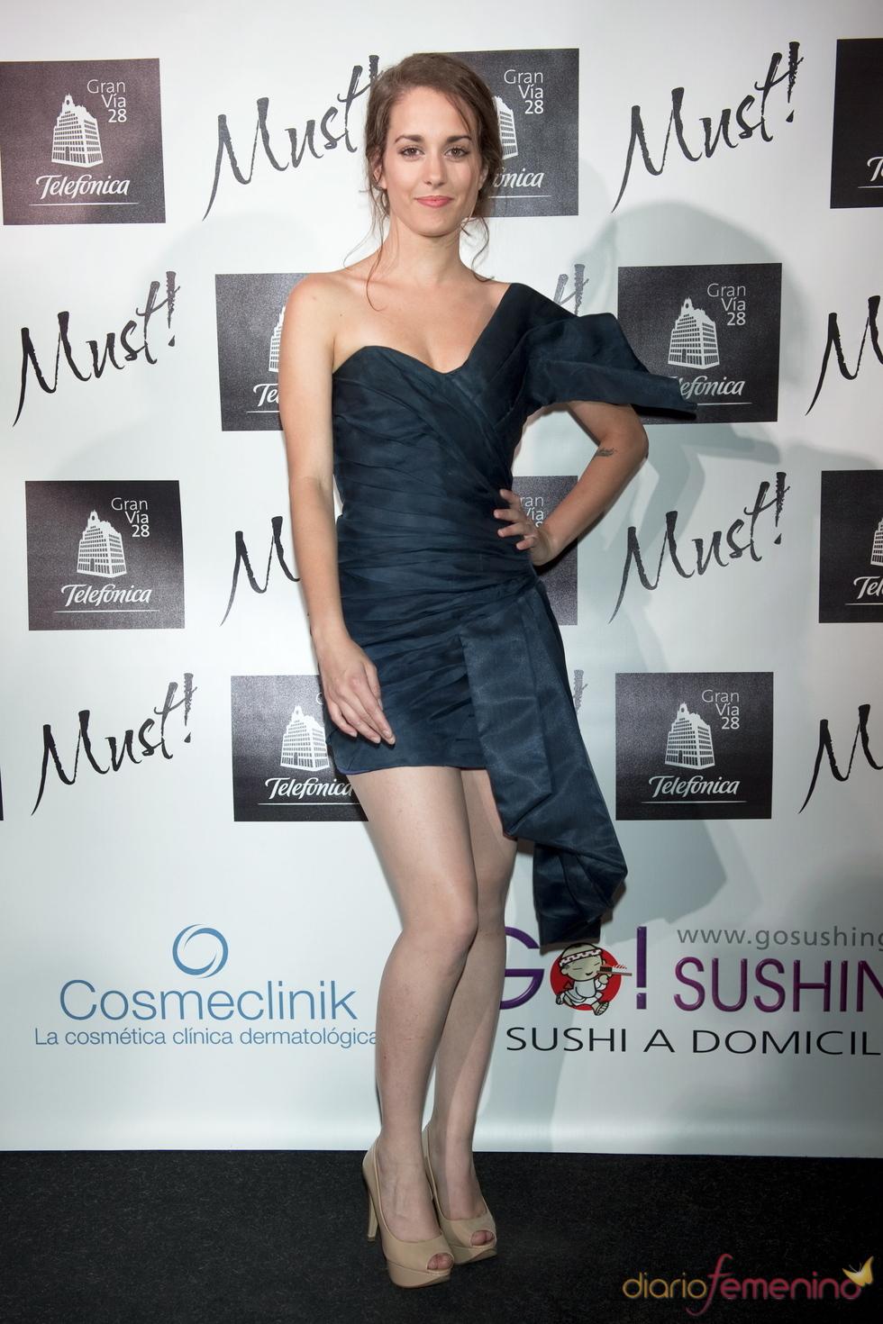 Silvia Alonso en la gala de los premios Must 2011