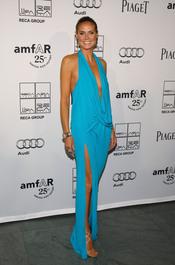 Heidi Klum en la Gala amfAR 2011