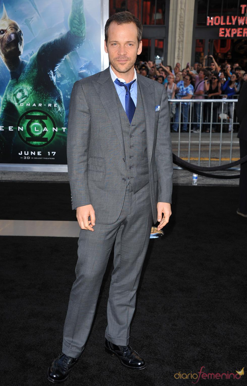 Peter Sarsgaard en el estreno de 'Linterna Verde' en Los Ángeles
