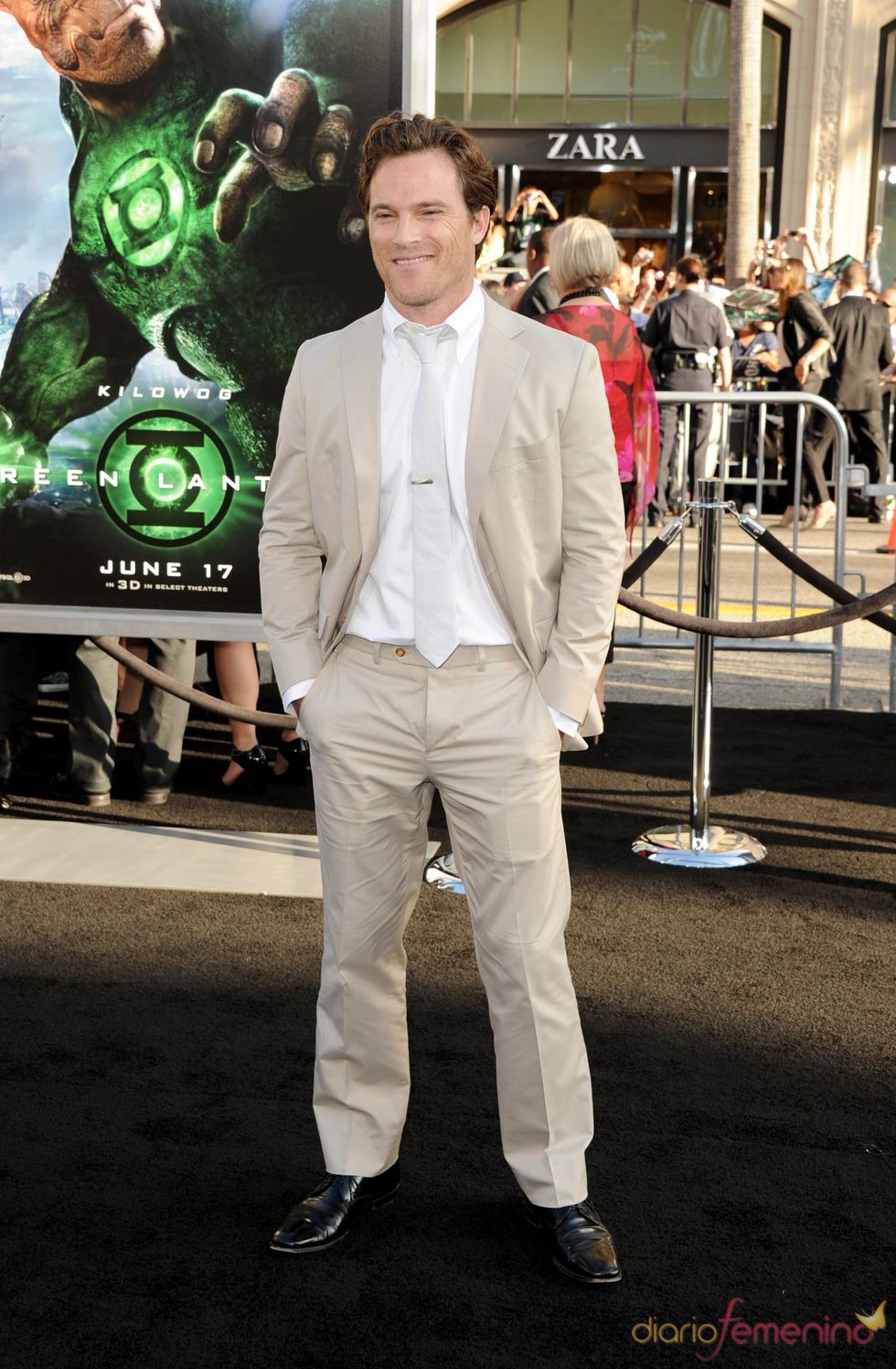 Mike Doyle en el estreno de 'Linterna Verde' en Los Ángeles