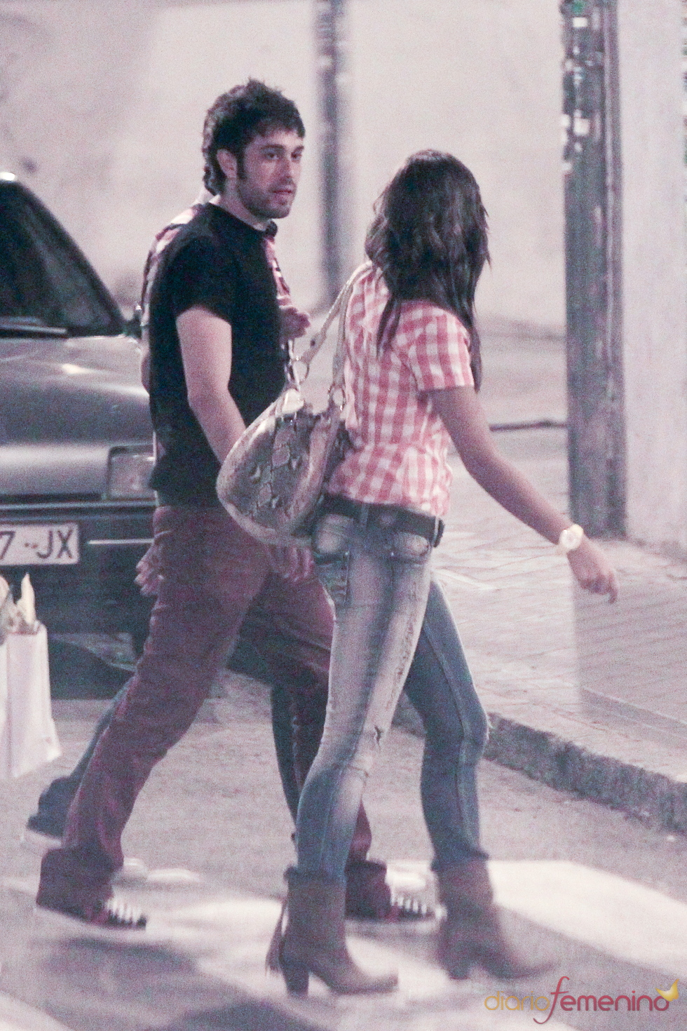Lara Álvarez y Dani Martínez se divierten por las calles de Madrid