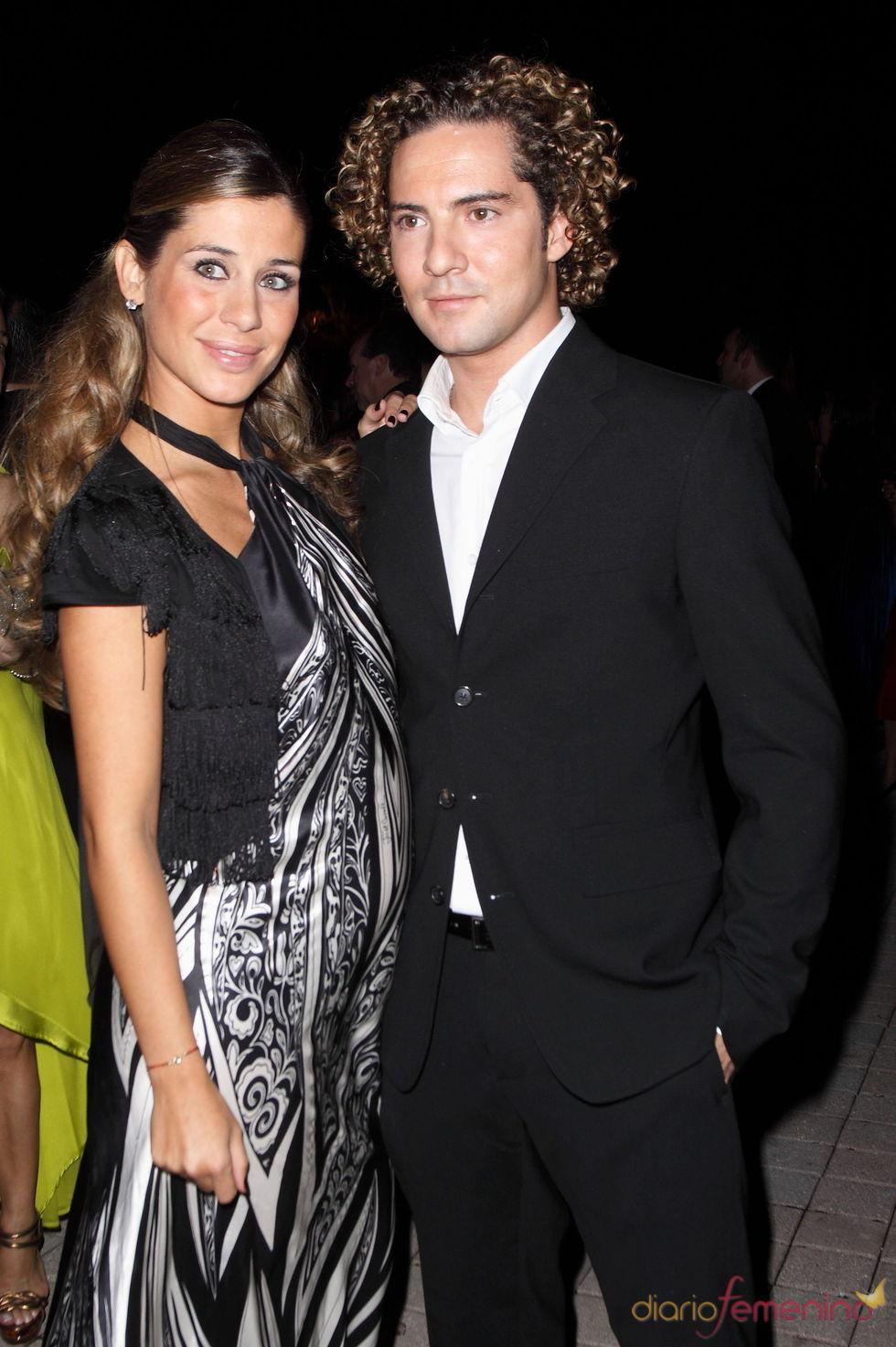 David Bisbal y Elena Tablada en una imagen de noviembre de 2009