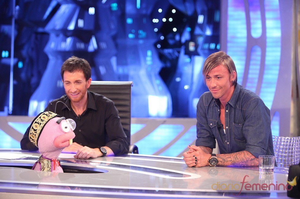 Guti y Pablo Motos en 'El hormiguero'