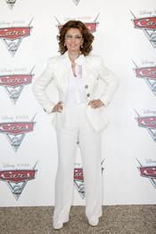 Sophia Loren en la presentación de 'Cars 2' en Roma