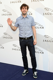 Julián López en un acto promocional de la firma Jaguar