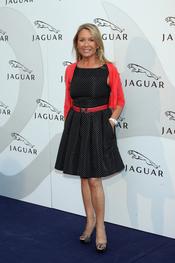 Marina Castaño en un acto promocional de la firma Jaguar