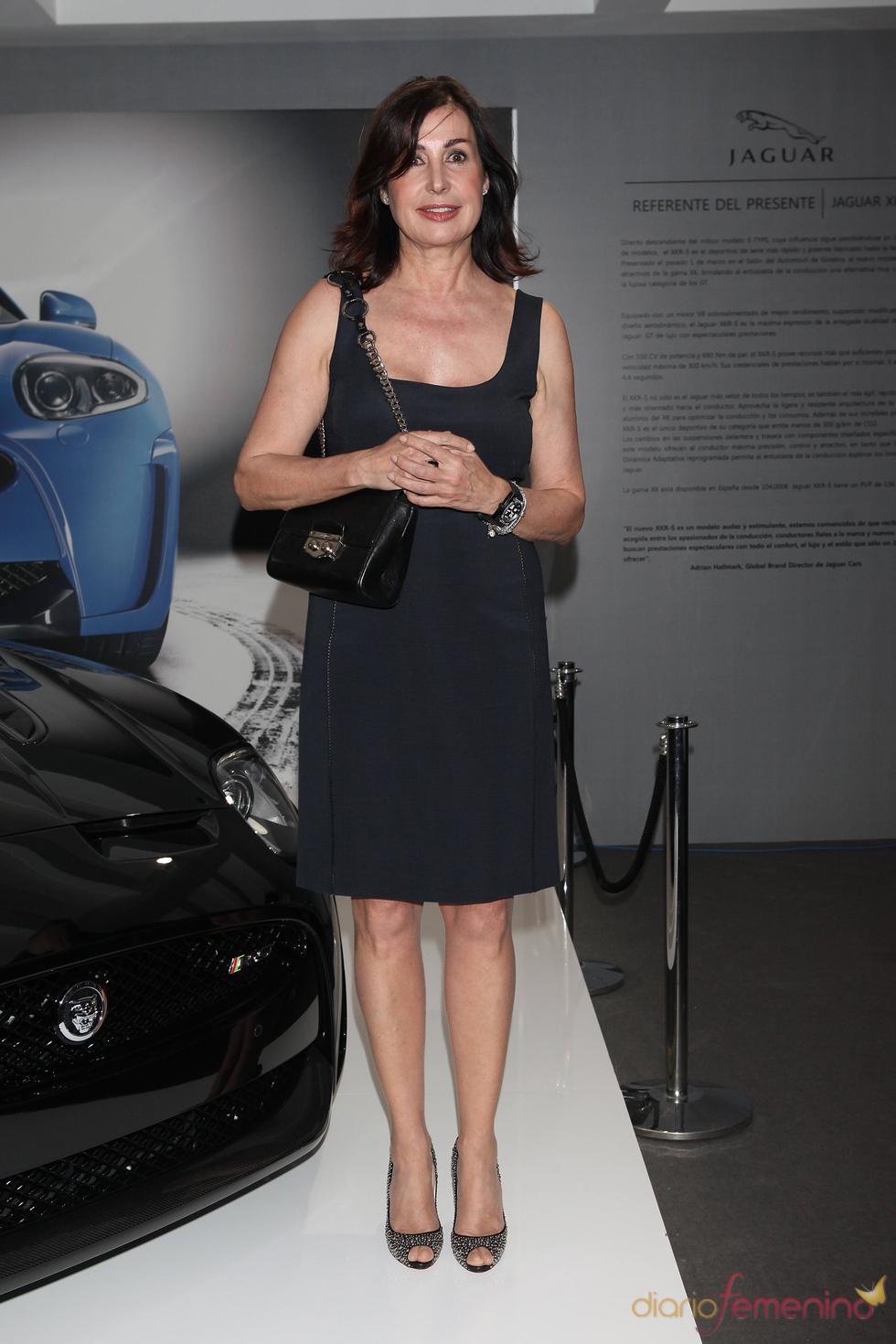 Carmen Martínez Bordiú en un acto promocional de la firma Jaguar