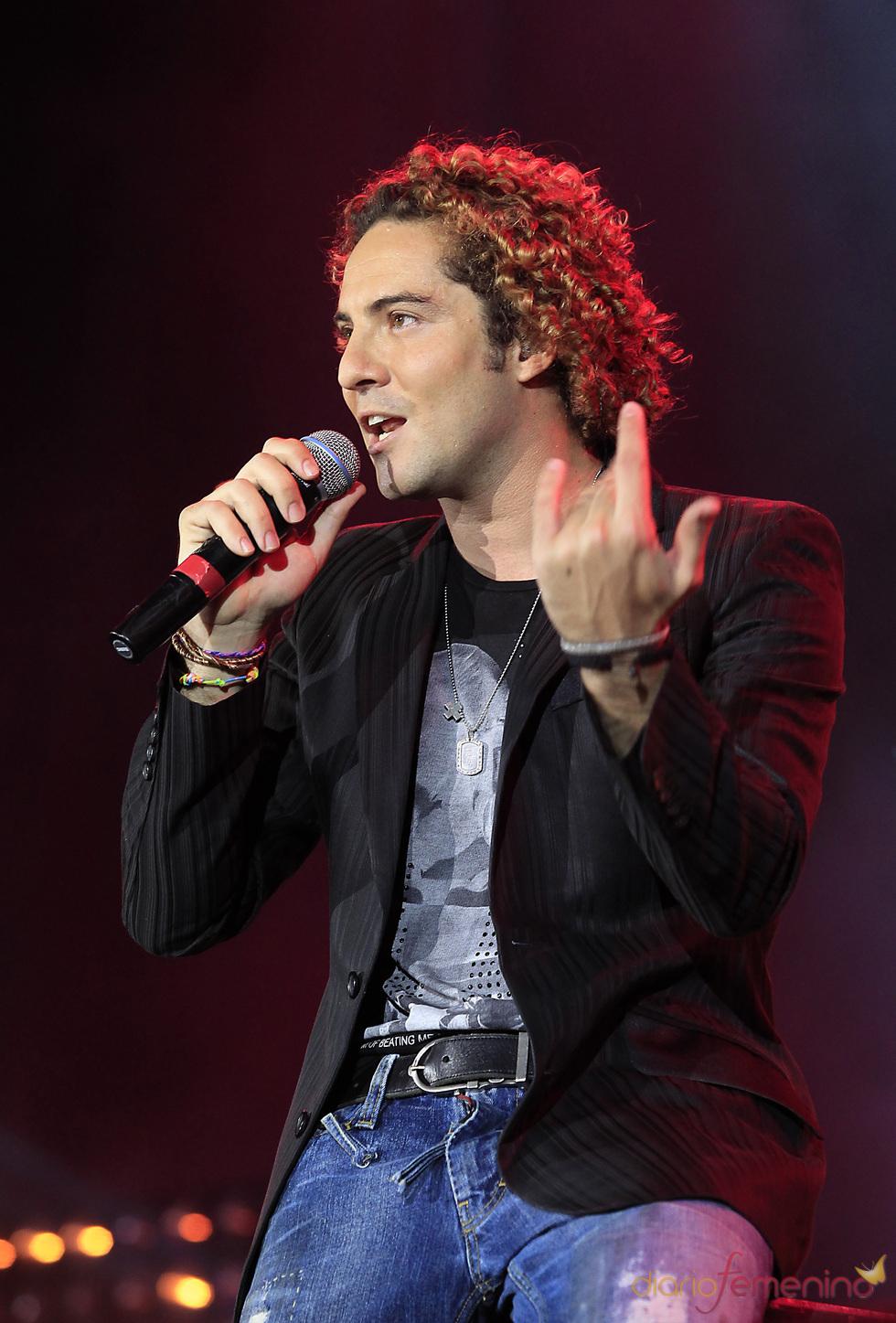 David Bisbal en el concierto 'Lorca somos todos' en Murcia
