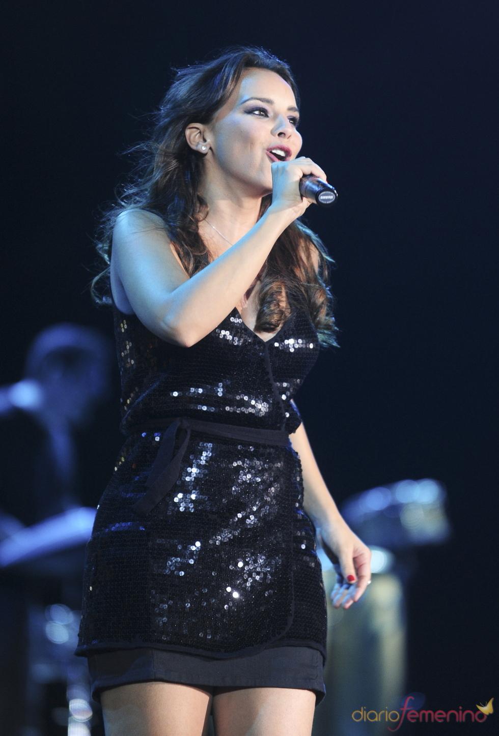 Chenoa en el concierto 'Lorca somos todos' en Murcia