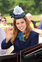 Beatriz de York en la tercera jornada de las carreras de Ascot