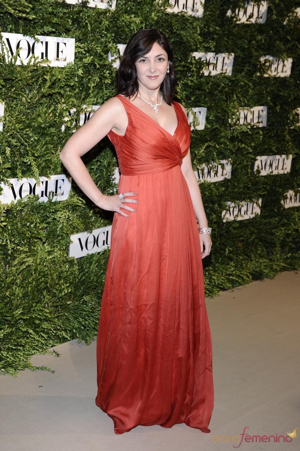 Espido Freire en los Premios Vogue Joyas 2011