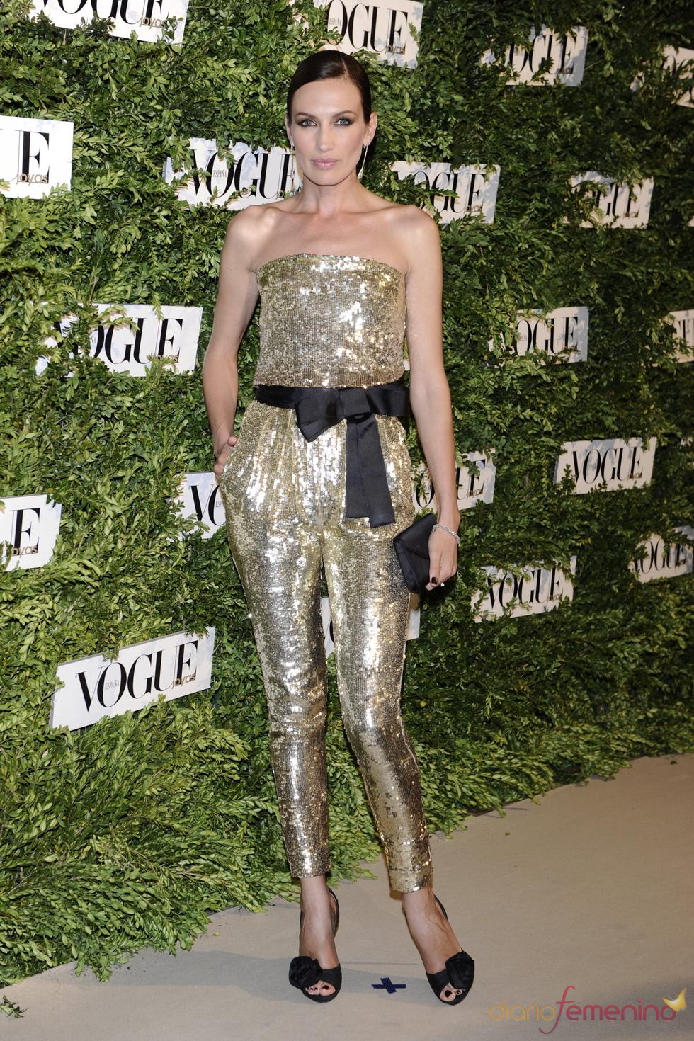 Nieves Álvarez en los Premios Vogue Joyas 2011