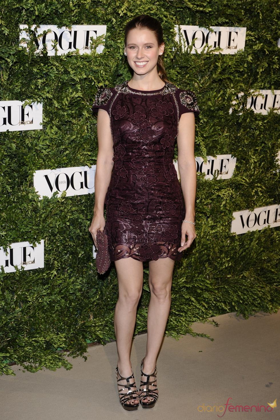 Manuela Vellés en los Premios Vogue Joyas 2011