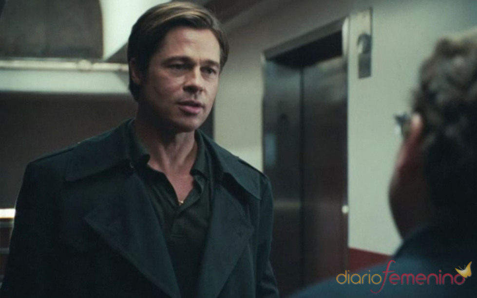 Brad Pitt juega al béisbol en 'Moneyball'