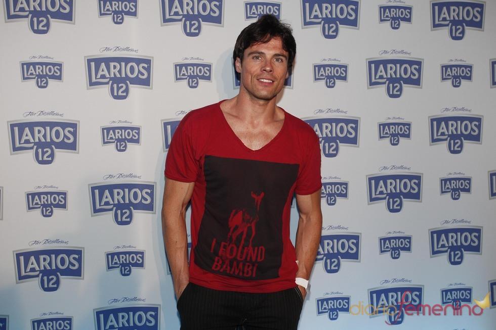 Octavi Pujades en la presentación del Calendario Larios 12 en Barcelona