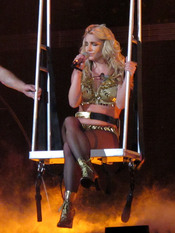 Britney Spears emociona al público en el concierto de Sacramento