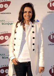 Estela Jimenez en los Premios Pie Derecho de Cadena 100