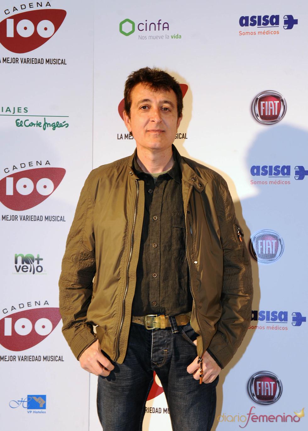 Manolo García en los Premios Pie Derecho de Cadena 100