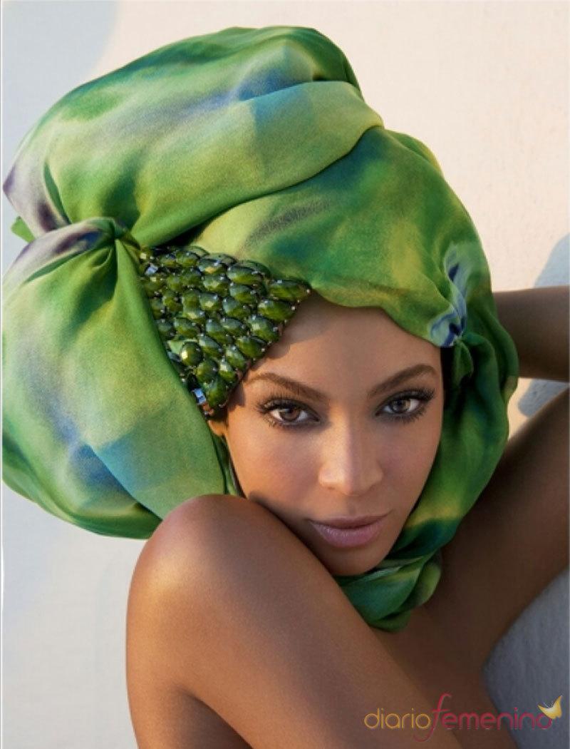 Foto de la guapa Beyoncé en Grecia