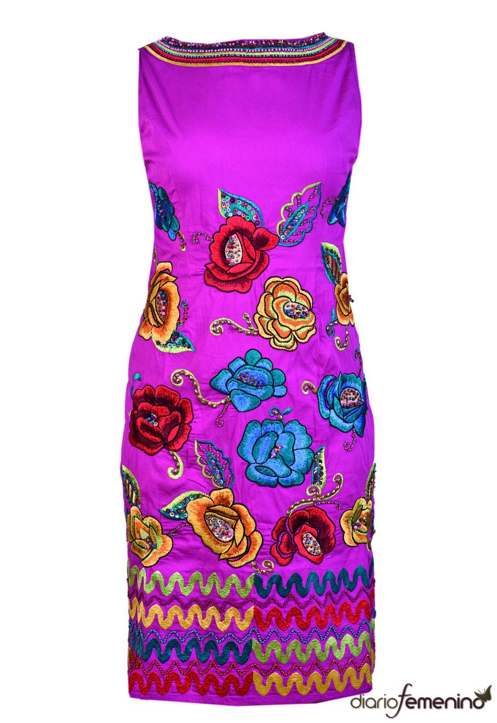 Vestido de flores de Niza 2010