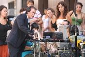 Fele Martínez en el rodaje de 'Tensión sexual no resuelta'
