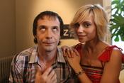 Fele Martínez y Norma Ruiz en el rodaje de 'Tensión sexual no resuelta'