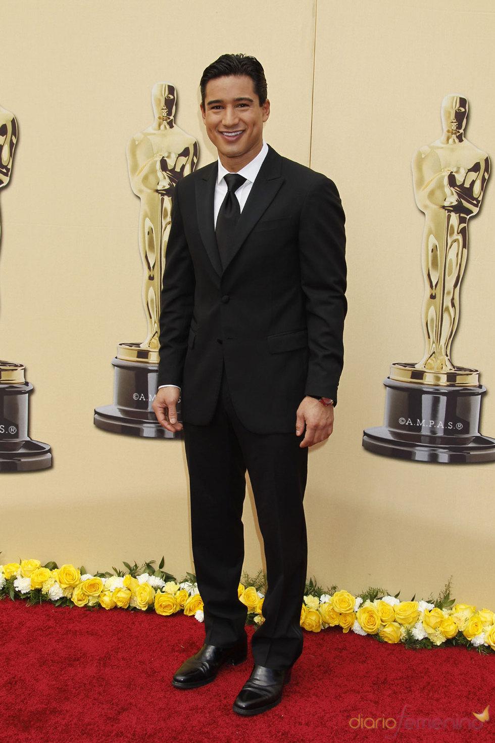 Mario Lopez en la Alfombra Roja de los Oscars 2010