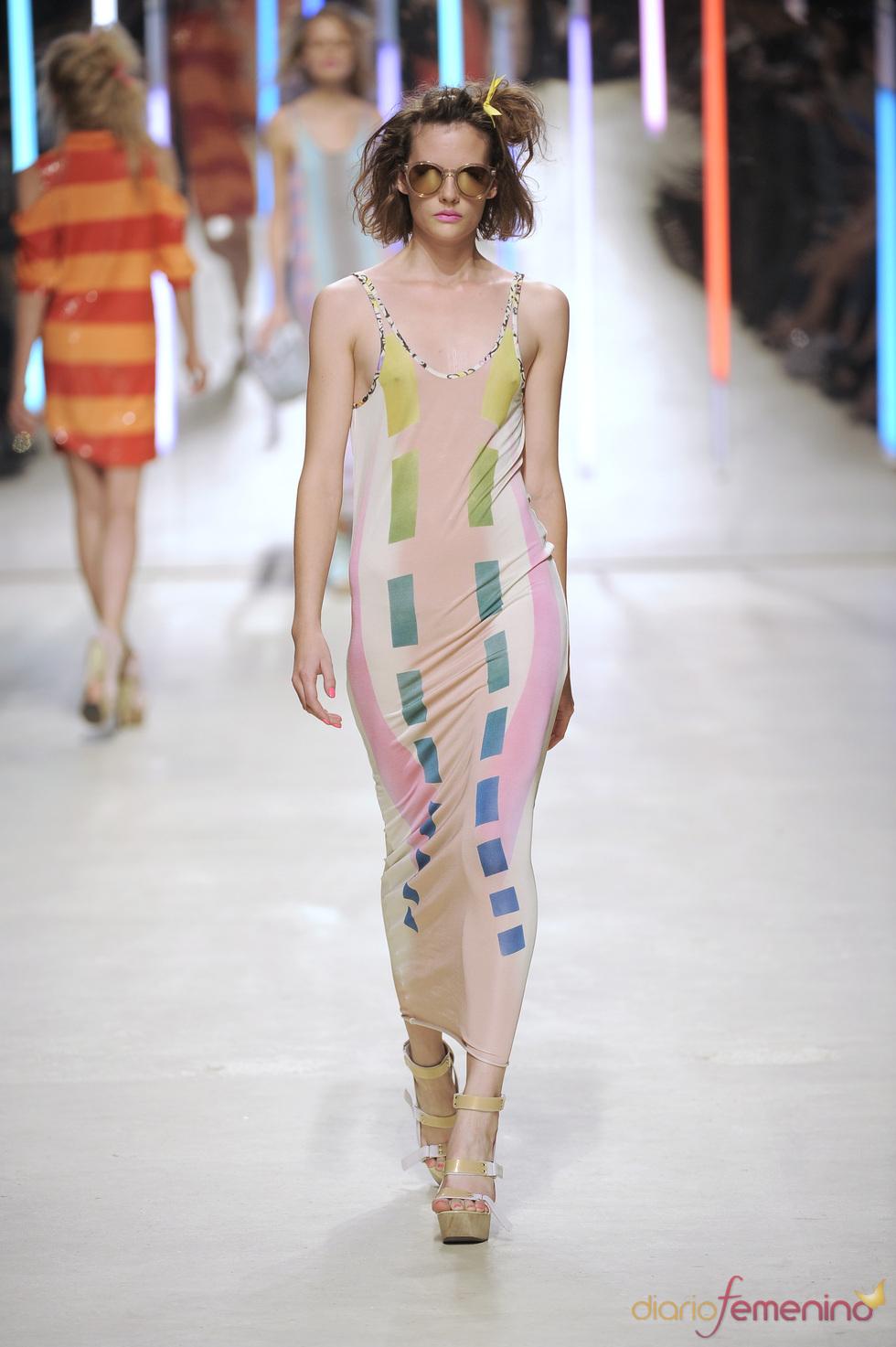 Vestido femenino de Topshop 2010