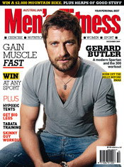Gerard Butler en Men's Fitness