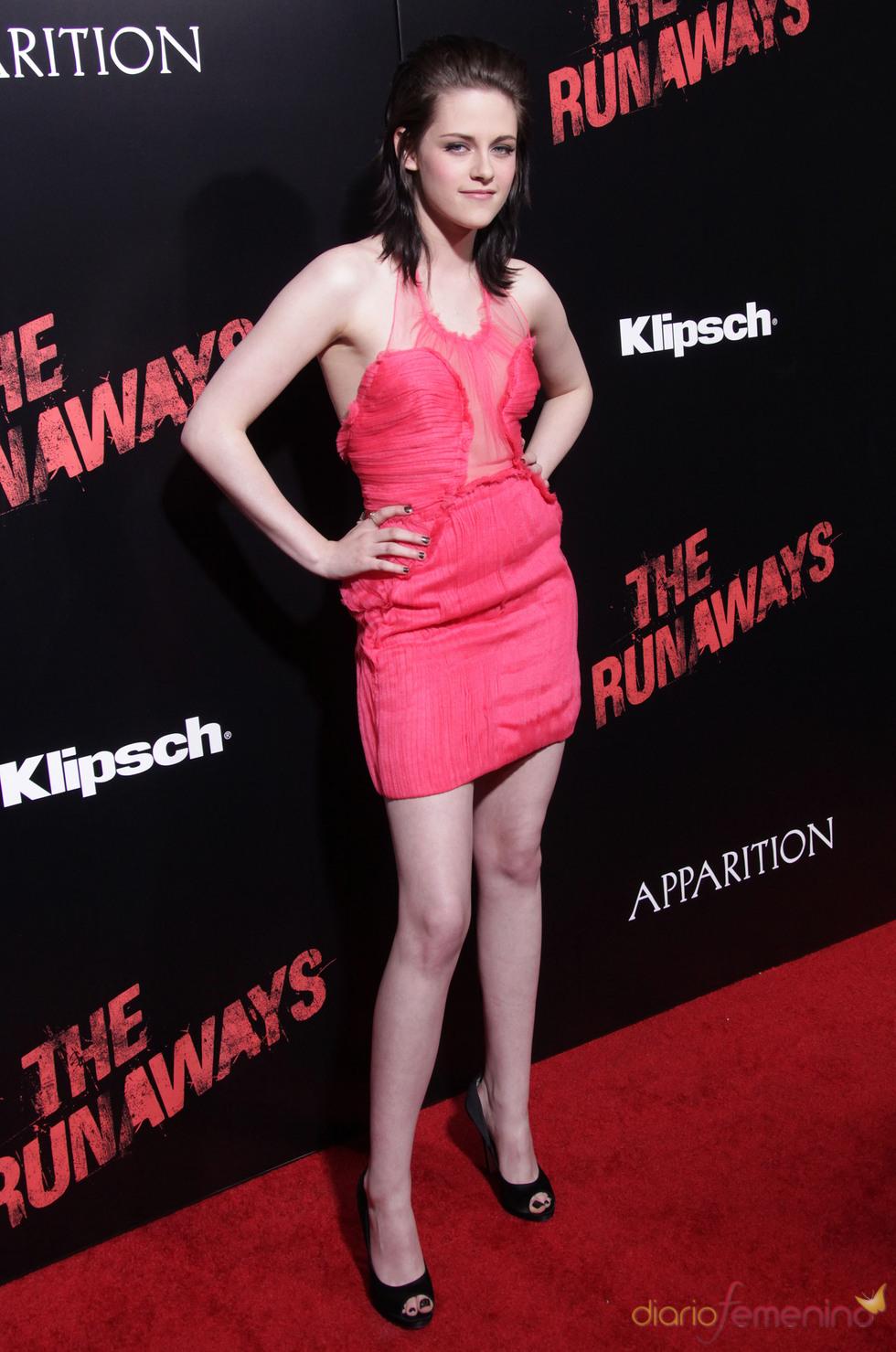 Premiere de 'The Runaways': Kristen Sewart, radiante