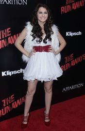 Scout Taylor Compton en la premiere de 'The Runaways'