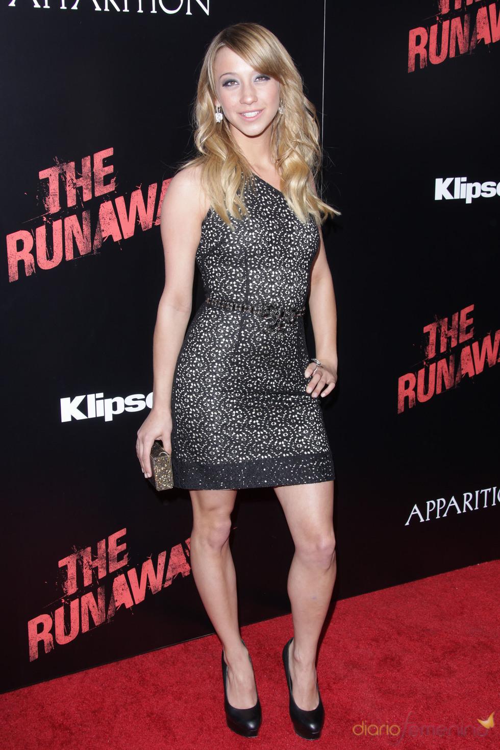 Premiere de 'The Runaways': Stella Maeve