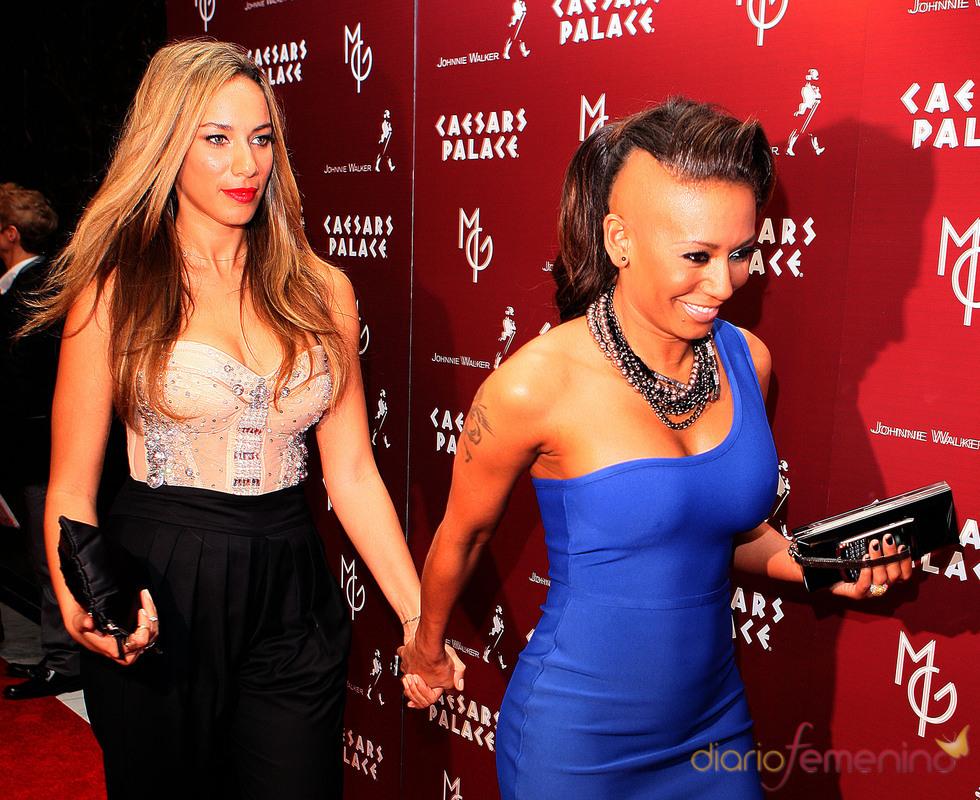 Mel B y Leona Lewis en el debut de Matt Goss en Las Vegas