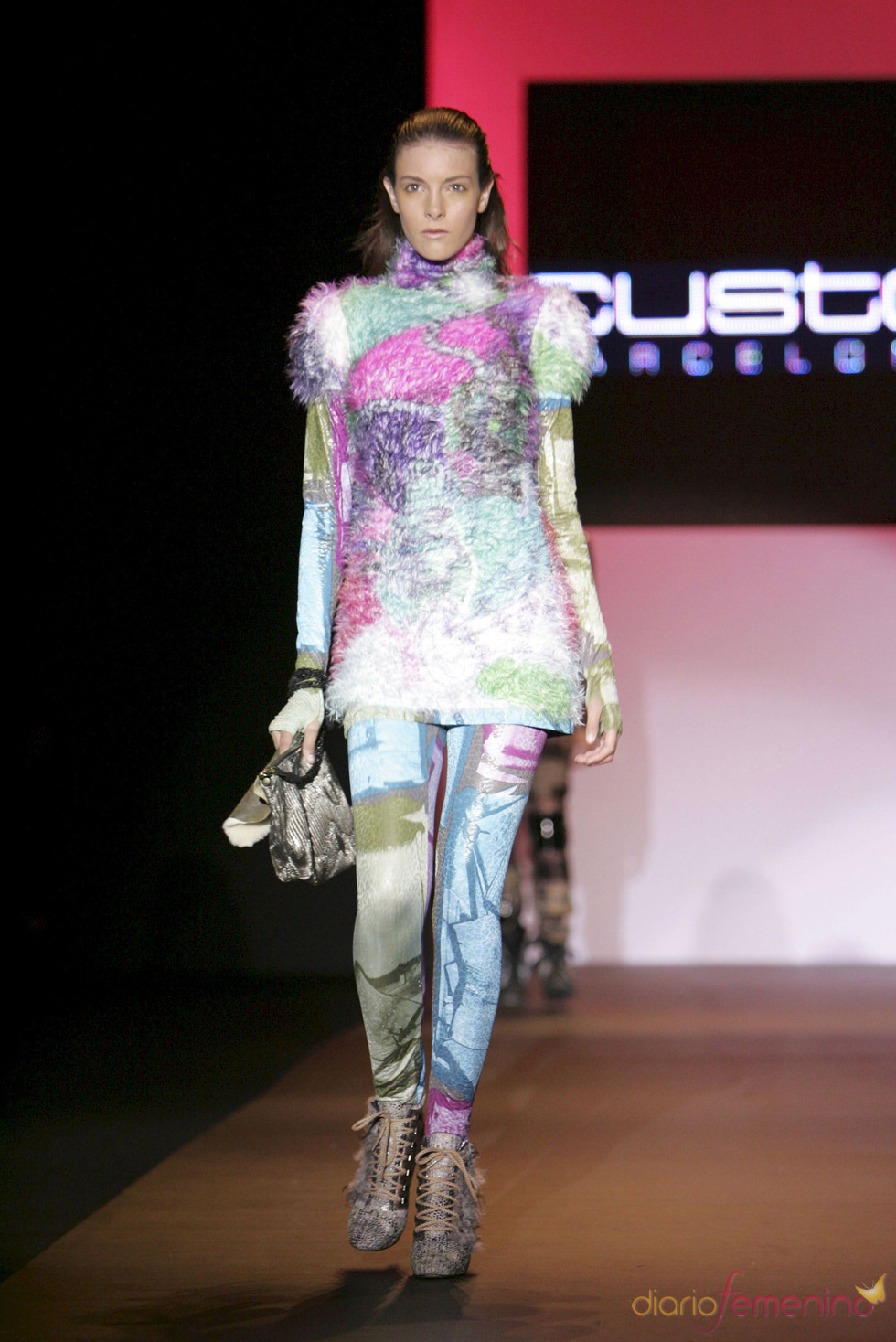 Estampados atrevidos de Custo en Miami Fashion Week