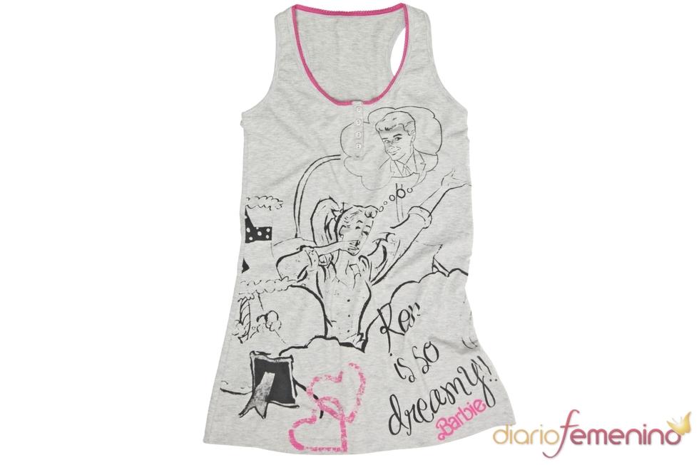 Camiseta de tirantes de Barbie para Blanco