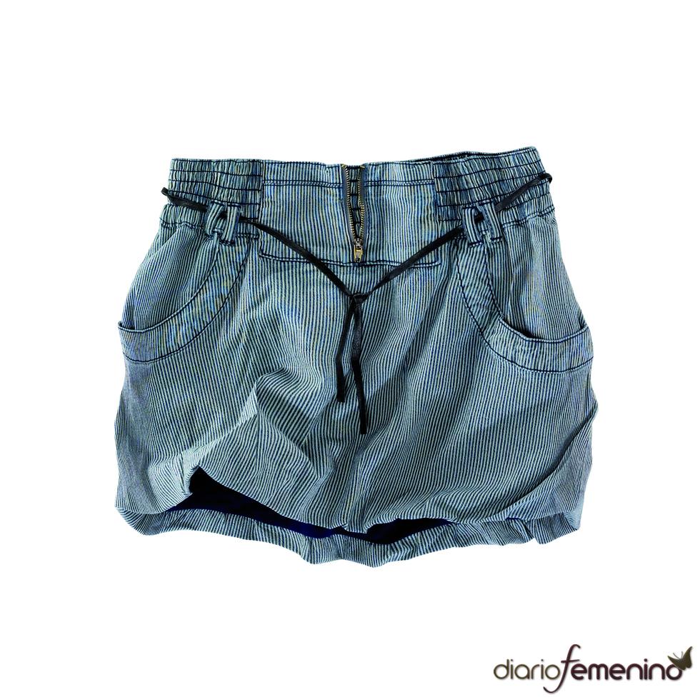 Minifalda bombacho de Pull and Bear